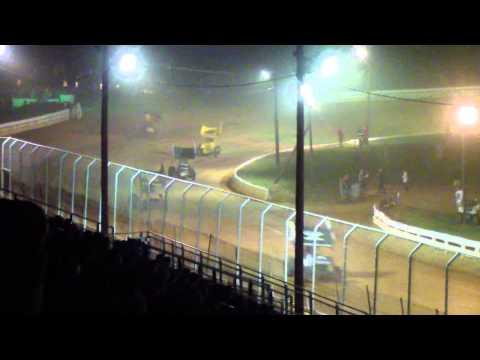 Port Royal Speedway URC and 410 Sprint Car Highlights 8-24-13