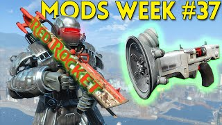 Fallout 4 TOP 5 MODS (PC, XBOX & PS4) Week #37 - SPELLS, SYNTH ARMY, BLOODY SHOTGUN
