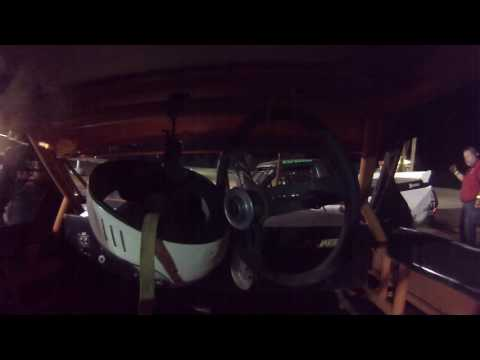 Mark Ziepfel Montpelier Motor Speedway Thunder Car Feature Race September 24, 2016