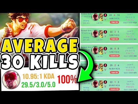 BREAKING THE WORLD RECORD LEE SIN KDA AND WIN RATE?! | Bronze V to Diamond #2 - League of Legends
