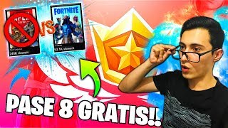 *FORTNITE RESPONSIBLE To APX LEGENDS*😱 HOW TO HAVE BATTLE PASS 8 AND CAMONS FREE!!