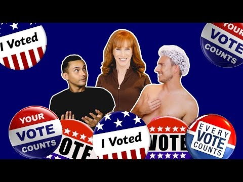 Kathy Griffin: Your VOTE Matters