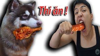 NTN - Thử Thách Thi Ăn Với Gấu Alaska ( Eating With Alaska )