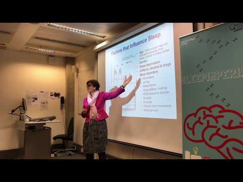 SleepImperial - The importance of sleep by Professor Mary Morrell Part 1