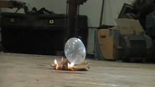 Oxy Acetylene Condom Bomb #1