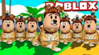 OUR CONVERTIMOS in 9,999,999 PERROS DOGE in ROBLOX!! | Simulator Doge