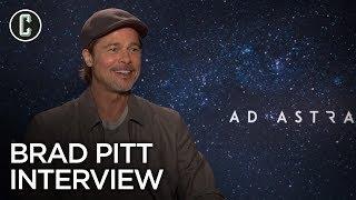 Brad Pitt Interview Ad Astra, Fight Club And World War Z 2