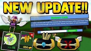 NOVA ATUALIZAÇÃO!! (Código livre, Wings & SECRET!!)   Construa um barco para Treasure ROBLOX