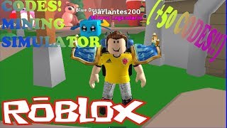 CODIGOS DE MINING SIMULATOR (+70 codes!) | ROBLOX