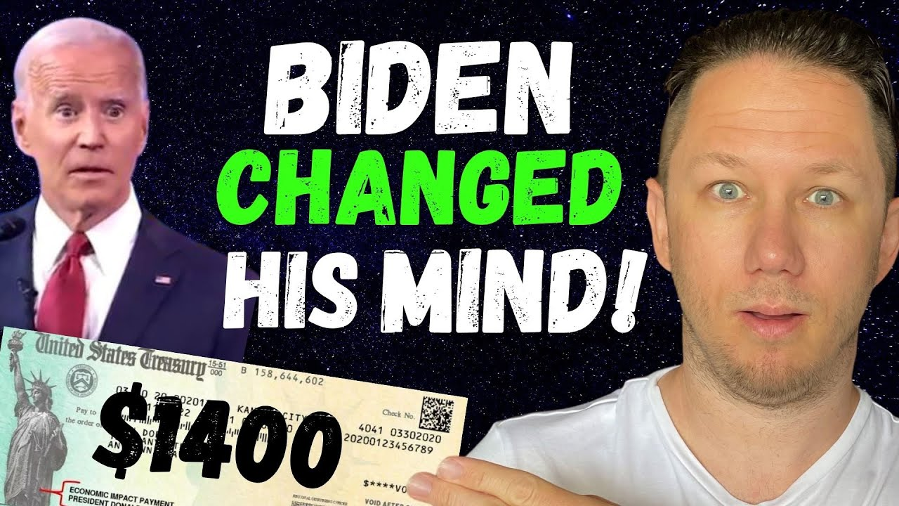 President Biden just Changed His Mind! $1400 Third Stimulus Check Update - download from YouTube for free