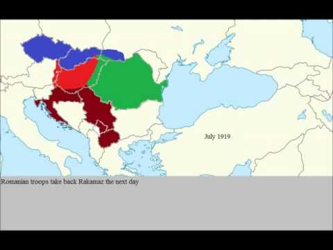 Hungarian-Romanian war of 1919