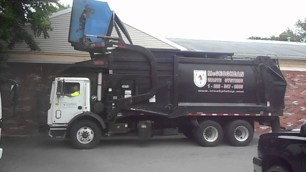 Mcgeoghan Waste Systems Republic Services Front Loader