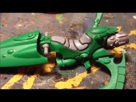 Painting Eldar Windrider Jetbikes.