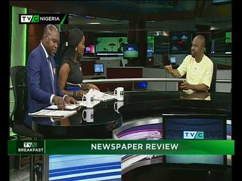 TVC Breakfast 11th January 2018 | Newspaper Review