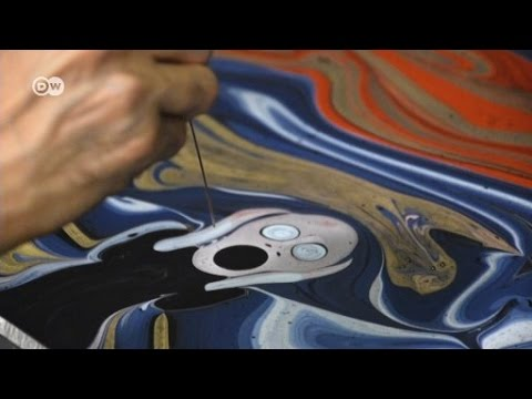 Ebru: Seni Melukis Di Atas Air