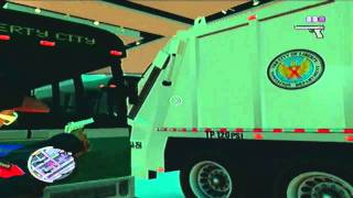 GTA 4- 2 Garbage Trucks and 6 Busses in the Grotti Dealership