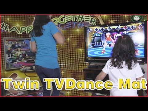 WOLSEN Dual Playing TV Dance Mat ReView and Setup