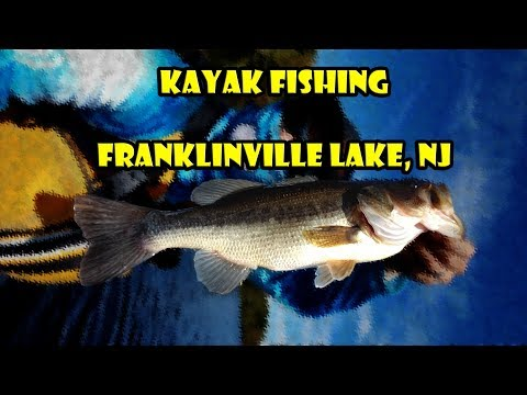 Fishing Franklinville Lake For Pickerels And Bass