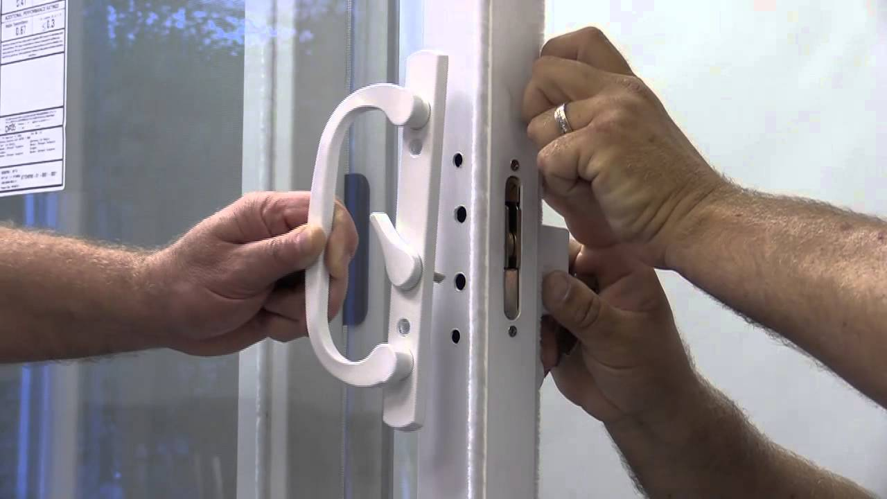 Atrium Patio Doors Remove A Stuck Key Youtube