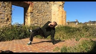 Breakdance - Advanced Footwork Combo ( ENGLISH SUBTITLES )