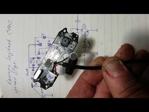 Веб-камера Logitech C170 - Пропал звук.