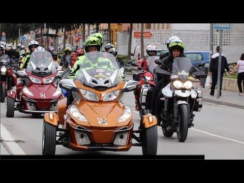 VÍDEO: La Rider Andalucía reunió en Lucena a casi mil moteros de toda España