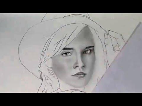 Emma watson painting || Emma watson sketch || Emma watson portrait