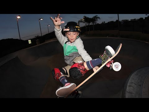 This 10-year Old Kid Could Be the NEXT Tony Hawk