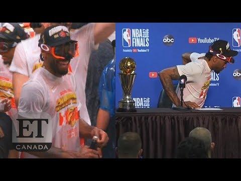 Kawhi Leonard Dances After Finals Win Forgets MVP Trophy