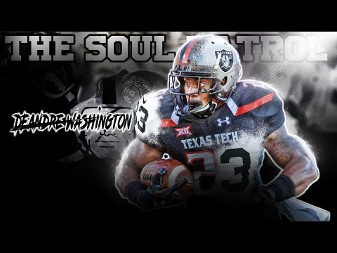 Deandre Washington: Something Special (Raiders Rookie College Highlights)