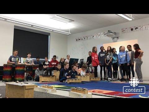 """""""Shine"""" - École Sage Creek School #CBCMusicClass"""