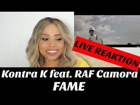 Kontra K feat. RAF Camora - FAME (Official Video) live Reaktion