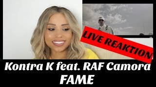 Kontra K feat. RAF Camora - FAME (Official Video) live Reaktion