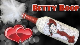 Betty Boop Bottle DIY Requested