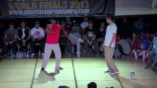 Brooke vs Hoan - BBoy Championships World Finals 2013 - Popping  Final