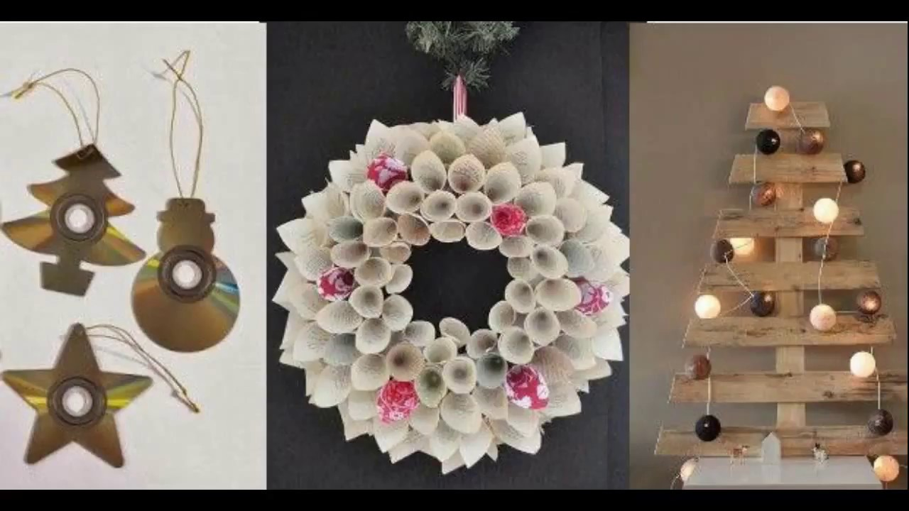 100 Ideas To Decorate This Christmas With Recycled Material 2017