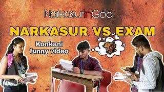 Goan Students During Narkasur in Exam | Narkasur in goa | Funny video | Narkasur vs Exam