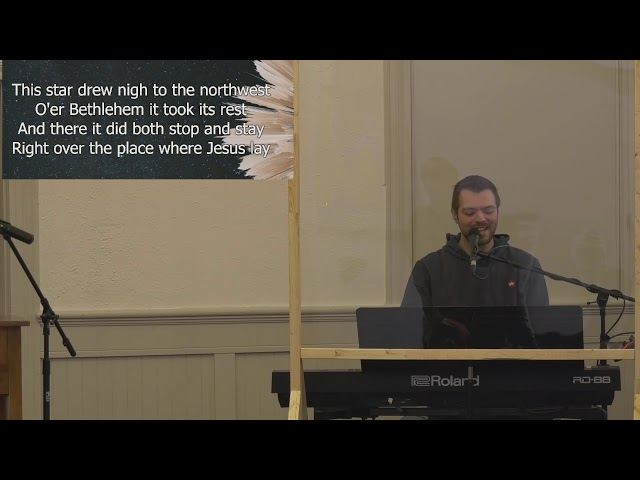 Caledonia Congregational Church Live Stream December 20, 2020