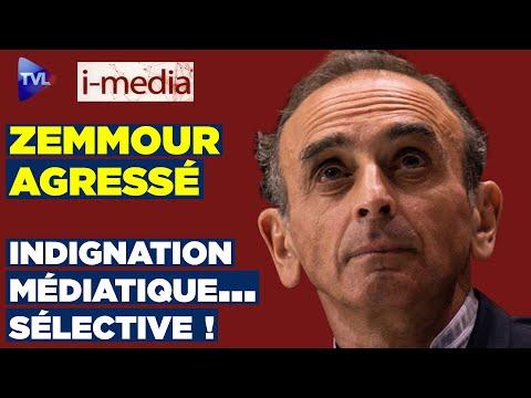 I-Média n°297 – Zemmour agressé : indignation médiatique… sélective !