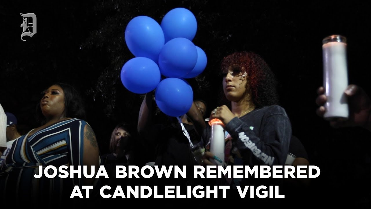 Joshua Brown remembered at Candlelight Vigil