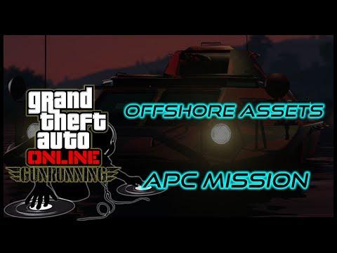 "GTA ONLINE - ""Offshore Assets"" - GUNRUNNING DLC - MISSION WALKTHROUGH - RAVER GAMER"