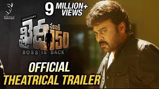 vuclip Khaidi No 150 Official Theatrical Trailer || Mega Star Chiranjeevi || V V Vinayak || DSP