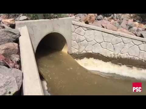 Lubbock Storm Water Drainage System Outfall