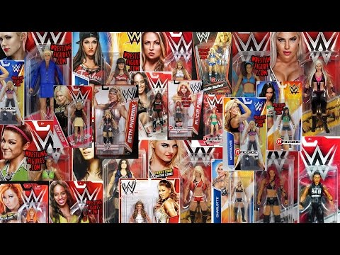 EVERY Female WWE Superstar That Mattel Have Released In The Basic Range Review!!!