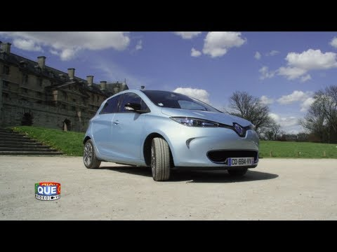 Renault Zoé - Prise en main