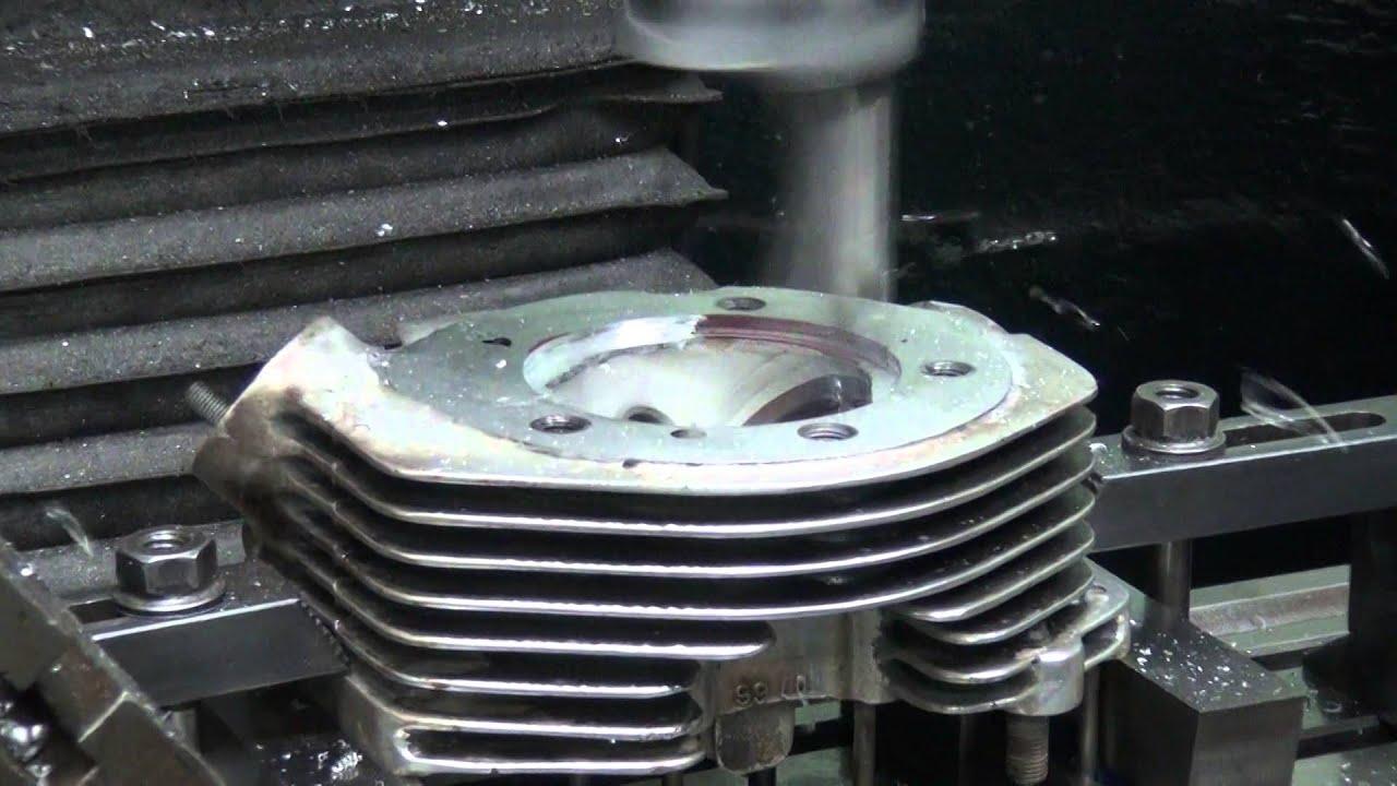1966-74 shovelhead blown head gasket #106 blowout repair Harley welding FLH  FX 74ci 80ci