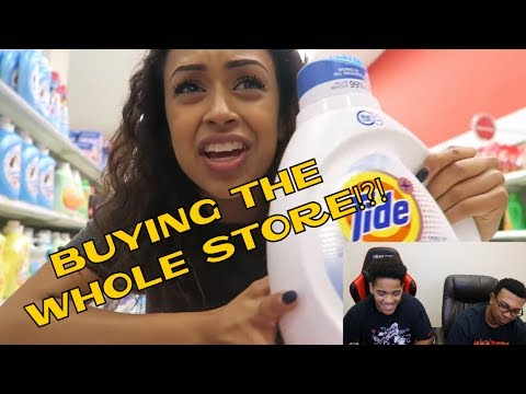 Thumbnail: Liza Koshy |I BOUGHT THE STORE. TARGET WITH LIZZZA! PART 2 | Lizzza | REACTION