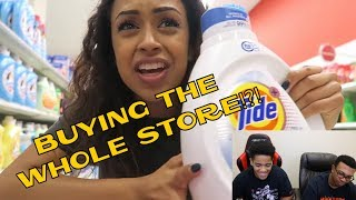Liza Koshy |I BOUGHT THE STORE. TARGET WITH LIZZZA! PART 2 | Lizzza | REACTION