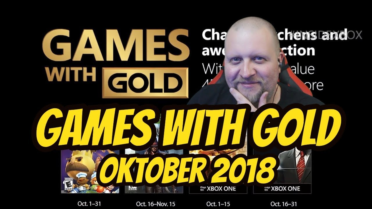 Xbox Gold Oktober