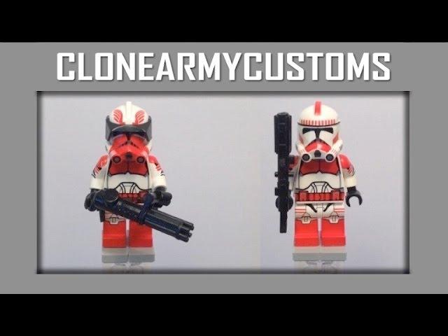 espritweb.fr Clone Commander Thire Shocktrooper Custom x 4 Star ...